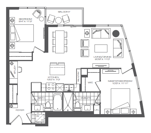 28 2 bedroom fifth wheel floorplans 2 bedroom 5th