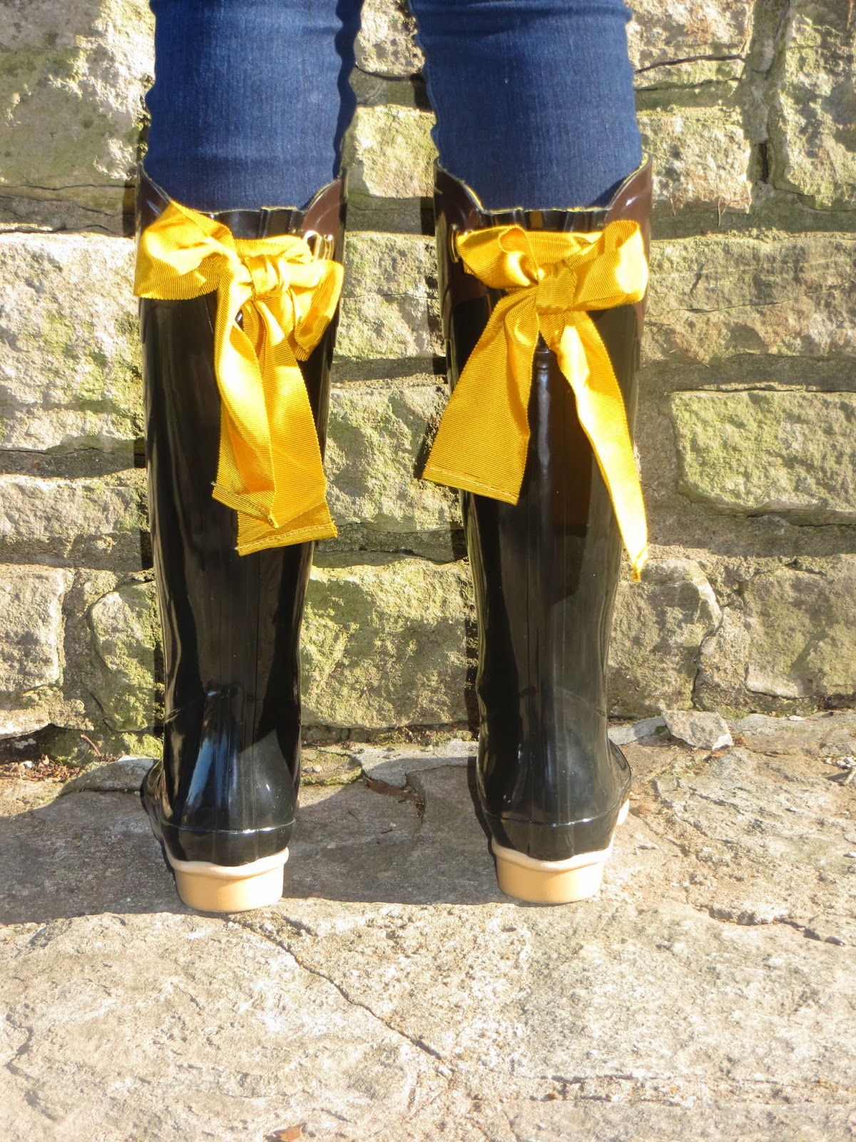 Wellies Rain Boots With Bows