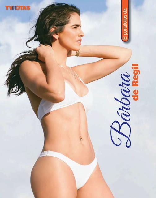 Bárbara de Regil en Bikini Portafolios Tvnotas Diciembre 2015