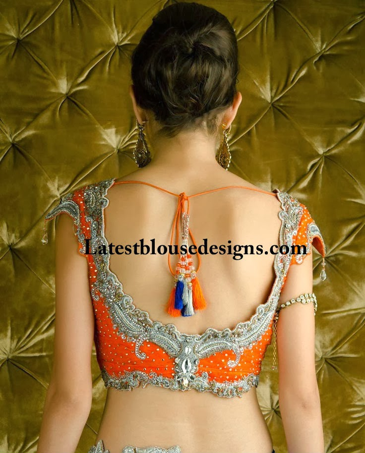 blouse designs for lehengas
