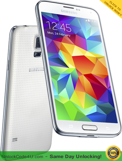 Free Unlock Code for your Samsung Galaxy S5 - Any Network