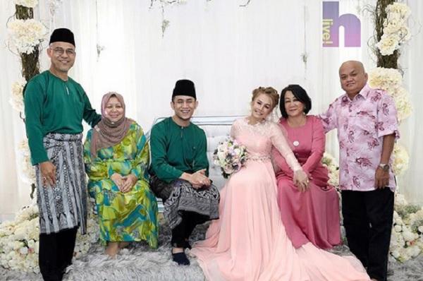Akim Ahmad, Stacy Sah Melangsungkan Pertunangan Petang Semalam