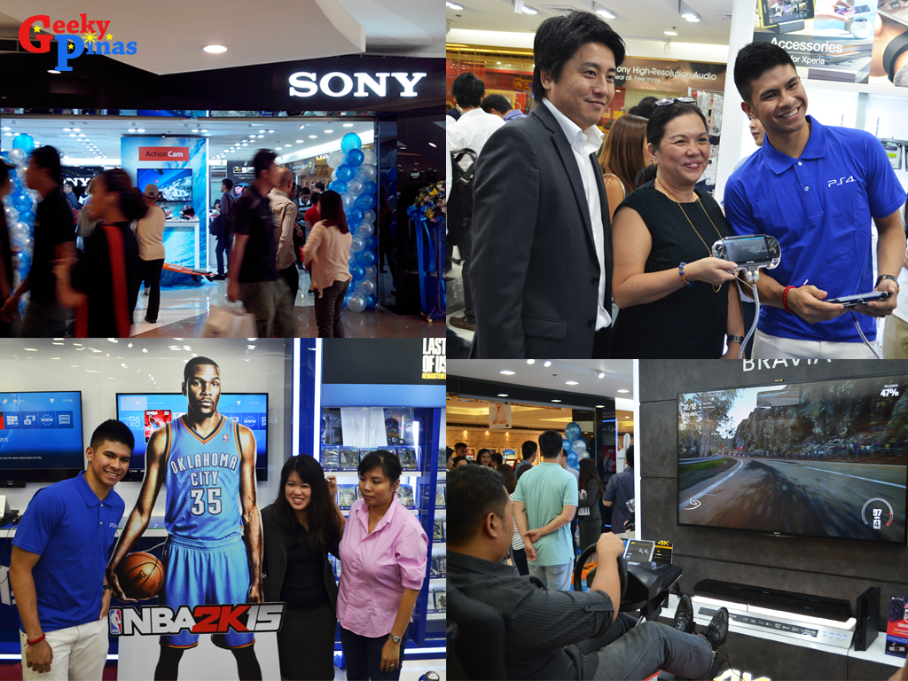 Sony Flagship Playstation Store Megamall Experience