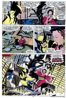 X-men v1 #118 marvel comic book page art by John Byrne