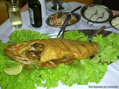 Barravento Restaurante & Chopperia: Peixe Vermelho frito
