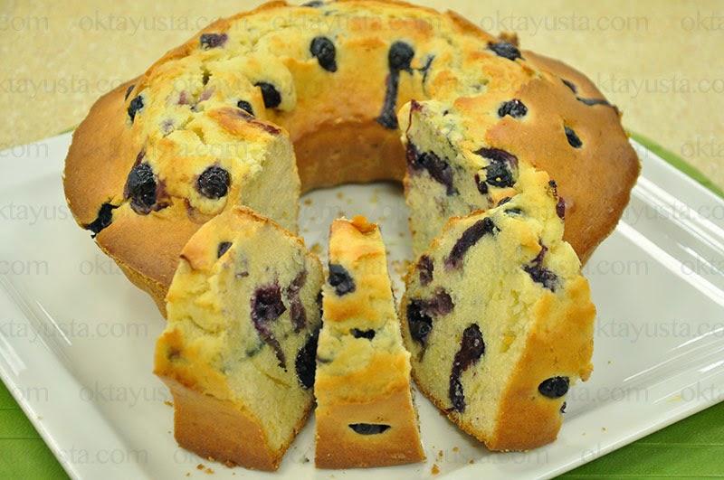 Yaban Mersinli Kek Tarifi Kolay Yapımı