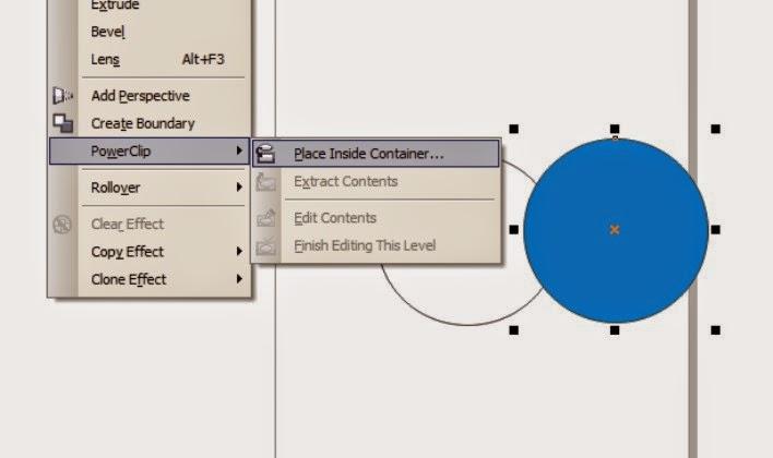 Cara Memasukkan Objek ke dalam Objek Dengan PowerClip