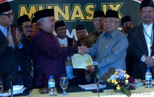 Jadi Rais Aam PBNU, KH Ma'ruf Amin Juga Terpilih Sebagai Ketua Umum MUI 2015-2020