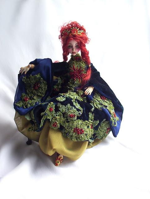 handmade bjd argentina porcelana muñeca
