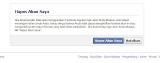 Cara Mengahpsu akun facebook