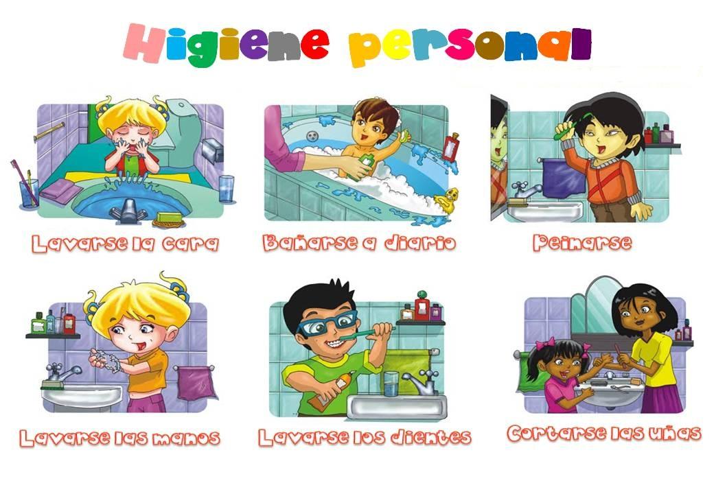 Baños Kinder Medidas:maravillosas actividades: Ciencias Naturales: Los hábitos de higiene