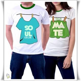 Model Kaos Pasangan