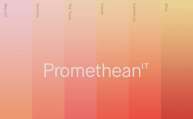 Inspiration by Iscomigoo Webdesign: Promethean IT, site internet