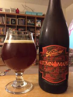 Bruery Autumn Maple Belgian Brown Ale 1