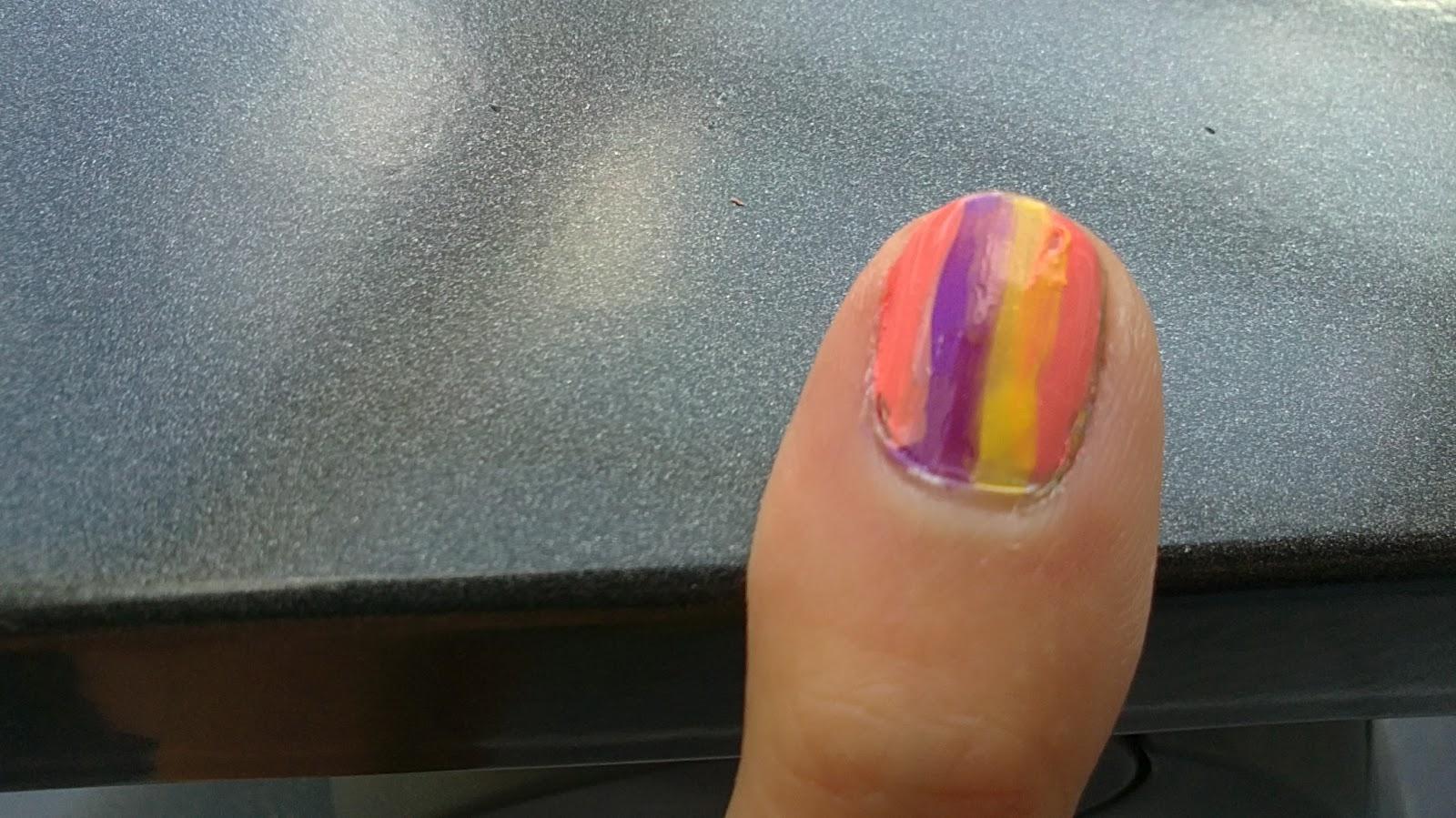 Cute nail polish een leuke makkelijke manier op je nagels te voorzien van een design - Hoe een vierkante salon te voorzien ...