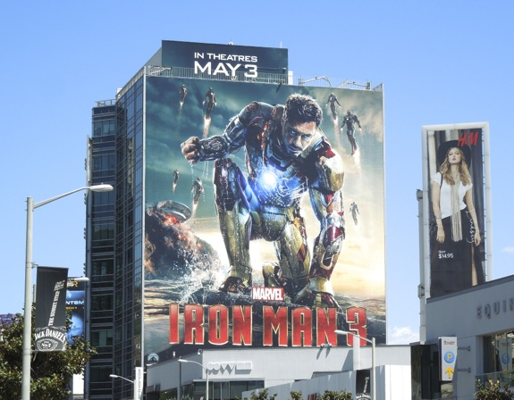 Iron Man 3 billboard