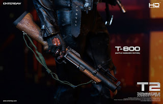 Enterbay 1/4 scale HD Masterpiece Battle-Damaged T-800 from Terminator 2: Judgement Day