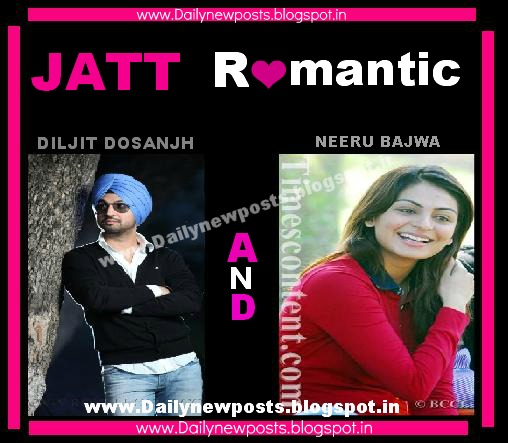 Download New Wallpaper of Punjabi Upcoming Movie Jatt Romantic by Diljit Dosanjh and Neeru Bajwa ...