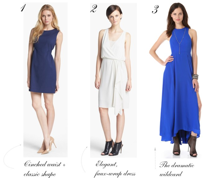 Rehearsal dinner dress options
