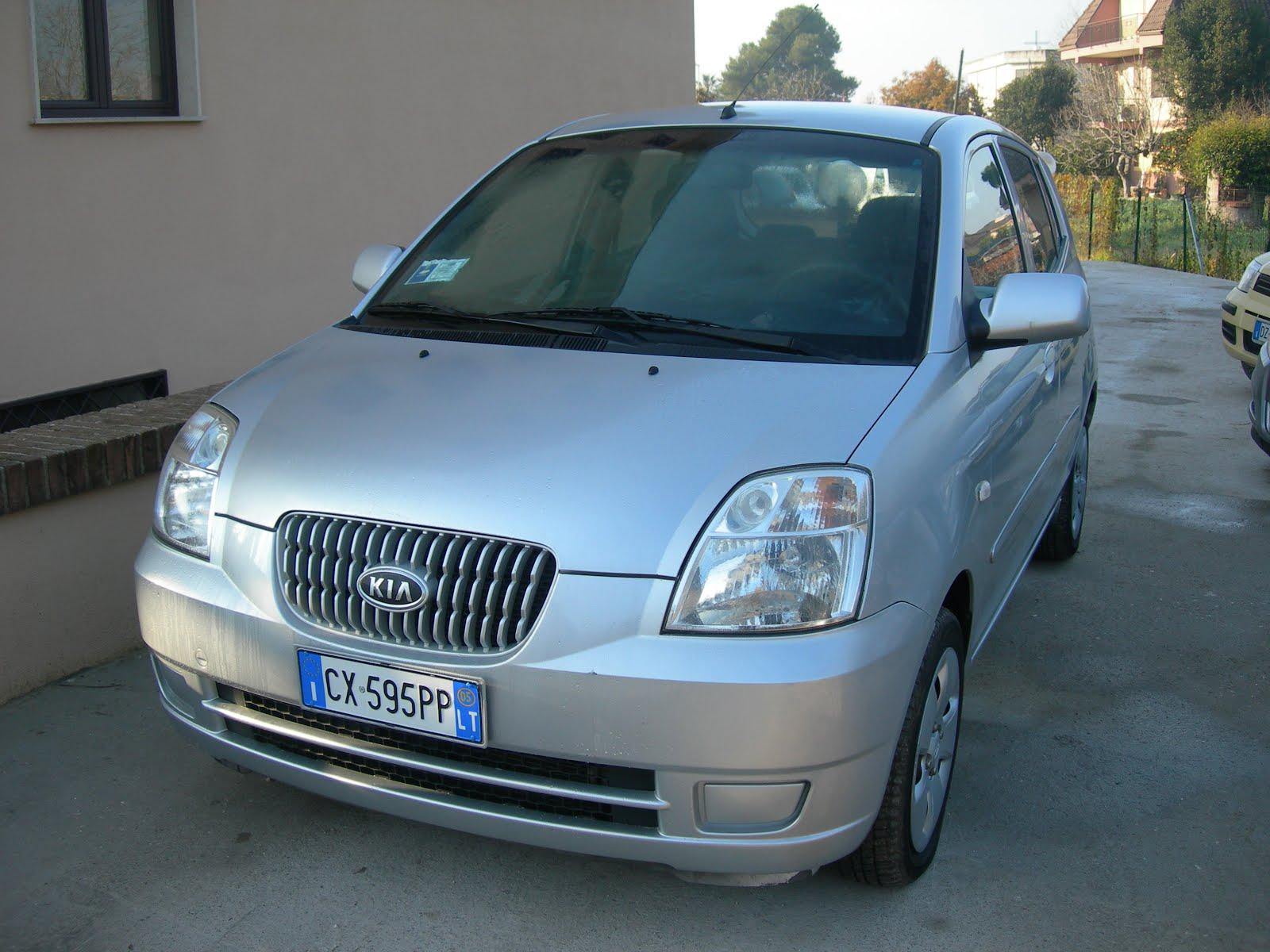 Kia Picanto 1.1 benzina anno 2005 accessoriata in ottime condizioni
