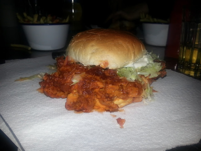 MeatMission Buffalo Chicken burger