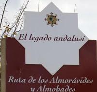 cartel ruta almohades y almoravide