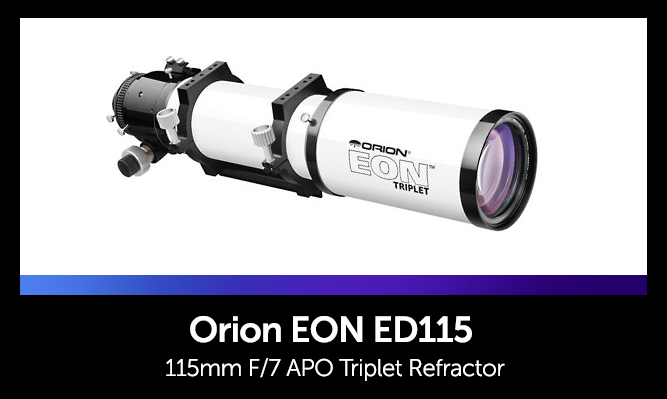 Astrophotography Telescopes - Orion 115mm