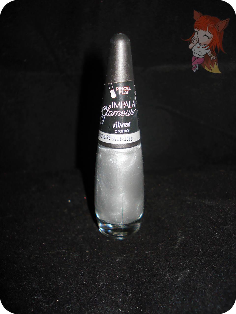 Esmalte Impala Silver :: Unhas para o Ano Novo