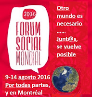 FORO SOCIAL MUNDIAL MONTREAL 2016