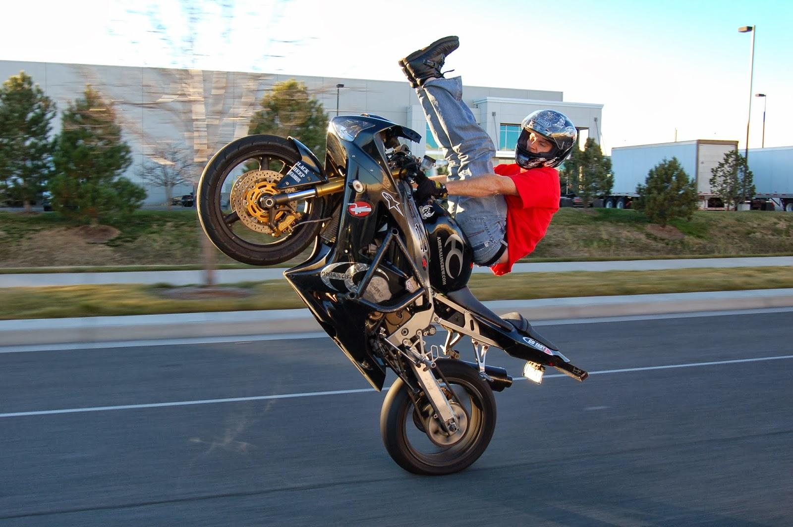 Kawasaki Zx 6r Stunt Custom Bikes