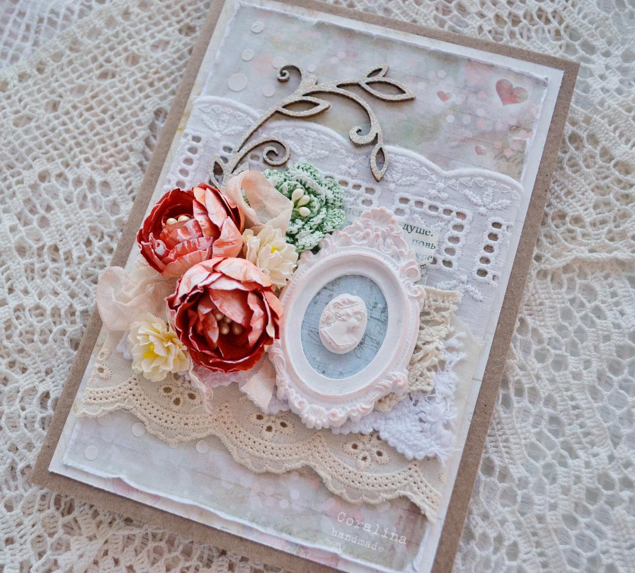 Наборы для самодельной открытки