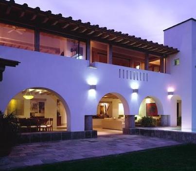 Fotos de terrazas terrazas y jardines casas mexicanas for Foto contemporanea de jardin