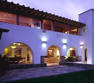 Fotos de terrazas terrazas y jardines casas mexicanas for Terrazas mexicanas