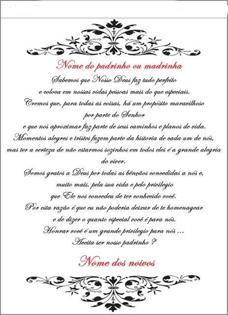 Tag Frases De Agradecimento Pelo Convite De Ser Padrinhos De Casamento