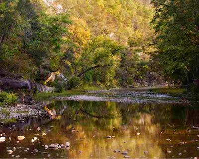 Buffalo National River at Ponca, September 22, 2012