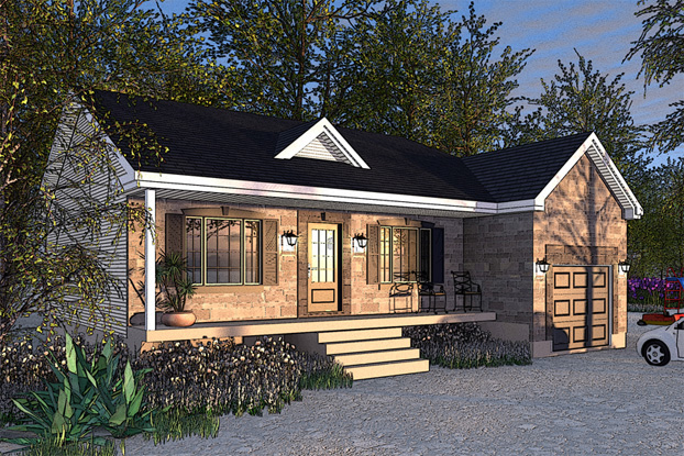Modular home 2 storey modular homes canada for Modular garage canada