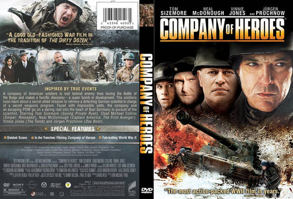 Company Of Heroes O Filme DVDRip XviD Dual Áudio Company Of Heroes 2013  Front Cover 73649
