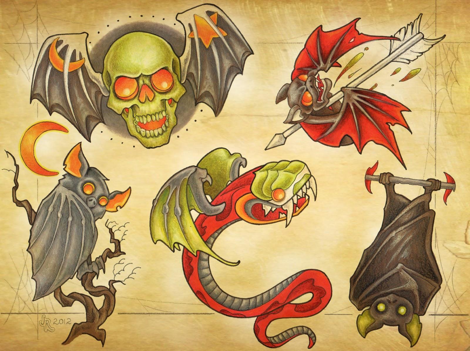 RedHouse Tattoo: Halloween Flash 2012