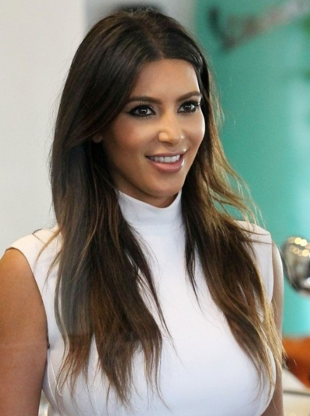 kim kardashian latest hairstyle for women trends 2013 14