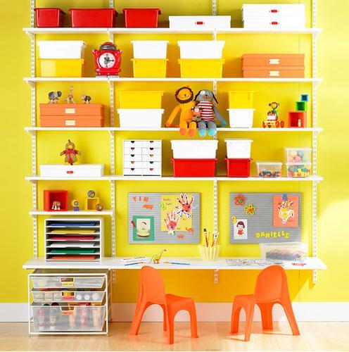 estanteria cuarto infantil: