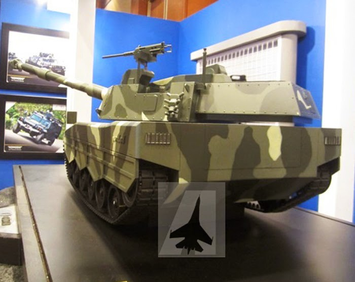Medium tank PT PIndad - Turki
