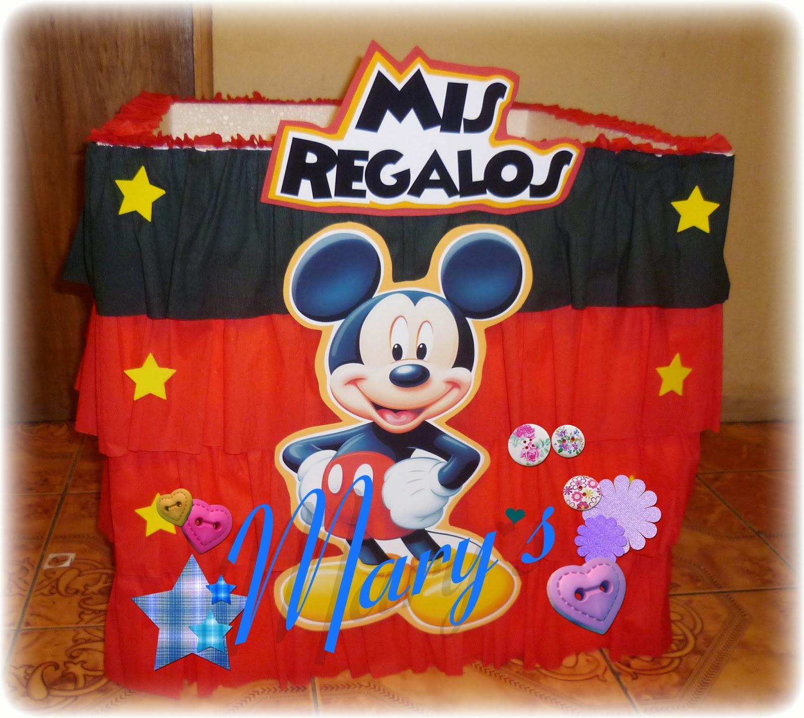 Mary´s Creaciones: Cumpleaños Mickey Mouse