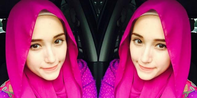 Waw! Cantik nya Istri Pasha `Ungu` Berhijab Panen Pujian