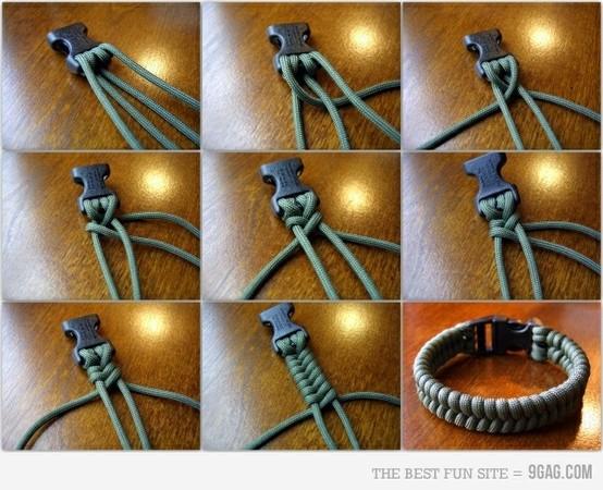 Браслеты из ниток для мужчин