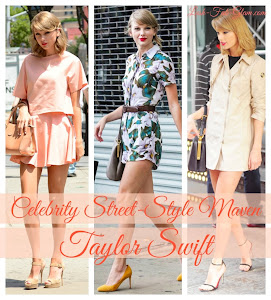 See some of our favorite street style looks from celebrity fashion maven Taylor Swift.