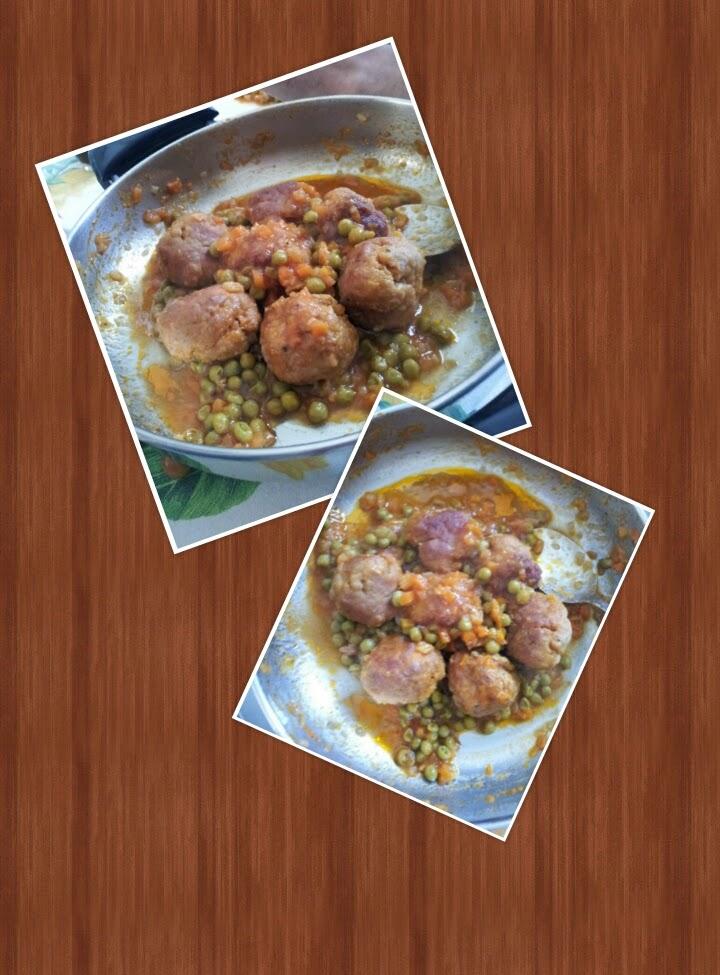 In cucina con zia vale polpette con i piselli - Cucina con vale ...