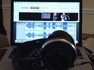 AKG K812 Pro Audio Editing Compputer