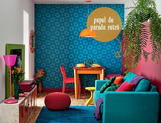 Cafofo super colorido   we love decor