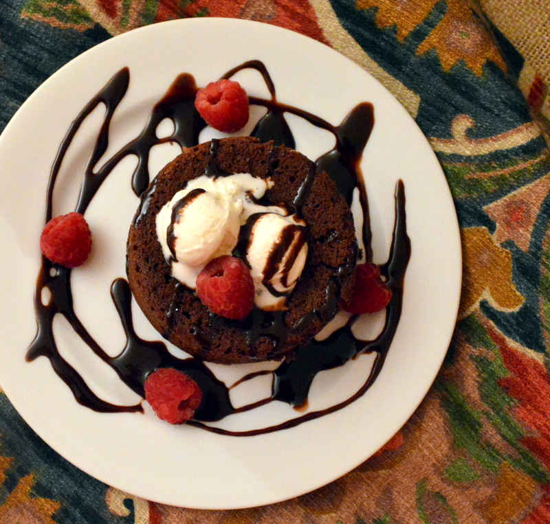 How To Make Molten Lava Cake Without Ramekins