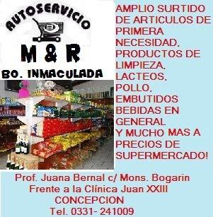 AUTOSERVICIO M & R – BARRIO INMACULADA